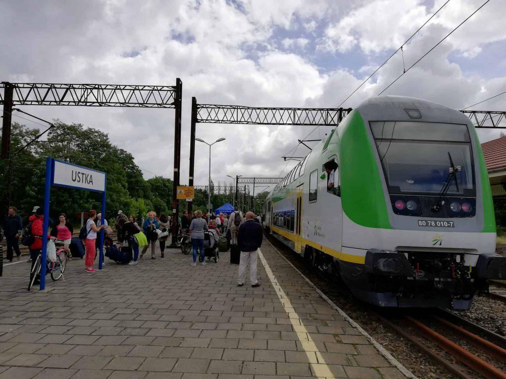 Nowy rozkład pociągów do Ustki